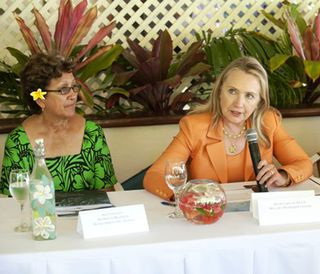 * Clinton, Women in Business, Pacific leaders call for full gender equality