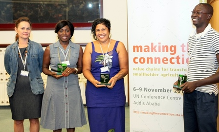 Women in Business win International Media Award