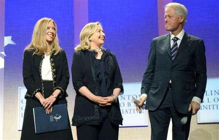 Clintons showcase Women in Business