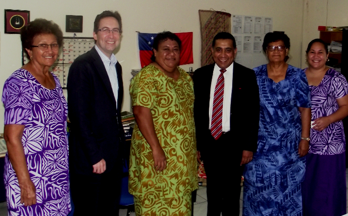 British Government support for social enterprise in the Pacific